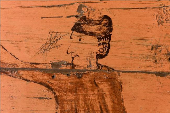Портрет «хозяина дома», возможно, в образе святого Трифона. Фото Richard Davies (UK)