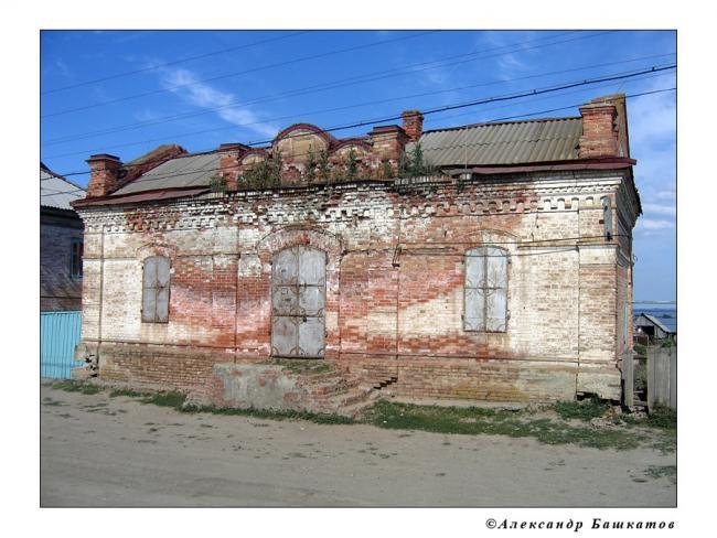 Старое немецкое здание