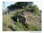 Экспедиция геологов СГУ обследует уникальный валун в долине речки Верхней Сосновки