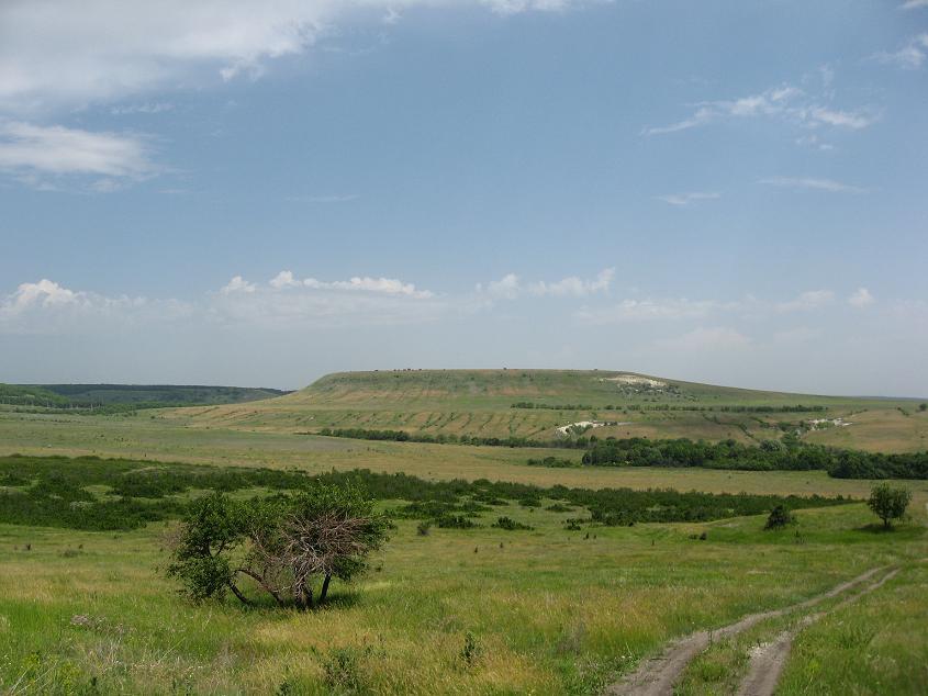 вид горы с юга (фото Мельникова Евгения)